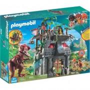 Joc Playmobil Dinos, Cercetatori, Fortareata si T-rex