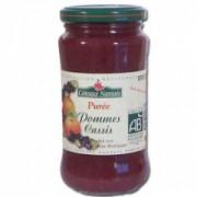 Piure fructe bio coacaze - mere