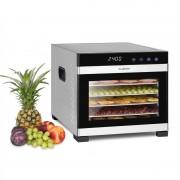 Klarstein Flavour Dry, élelmiszer szárítógép, 35 – 75 °C, LCD érintőképernyős kijelző, időzítő, fekete (GQ7-Flavour Dry)