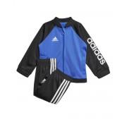 ADIDAS Shiny Track Suit Blue