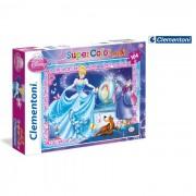 Clementoni puzzle maxi cenerentola 104 pezzi