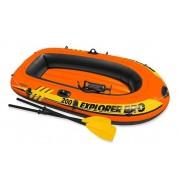 Intex - Надуваема лодка - Експлорър про 200 с гребла и помпа