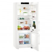 Combina frigorifica Liebherr CU 2915, 277 L, SmartFrost, Display, Raft sticle, Sertar fructe/legume, H 162.3 cm, A++, Alb