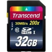 Card de memorie Transcend SDHC 32GB Premium Clasa 10 UHS-I 200x