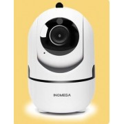 HD Cloud draadloze IP-camera intelligent auto tracking Human Home Security Surveillance netwerk WiFi camera plug type: AU plug (720P wit)