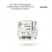 Jablotron AC-160-C Bezdrôtové multifunkčné relé (MFR) do montážnej krabice