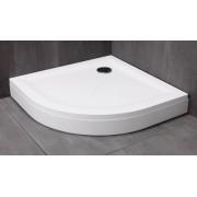 Kolpa san Macarena 90 x 90 öntött márvány negyedköríves zuhanytálca