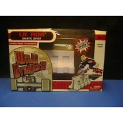 Wild Grinders Lil Rob Skate Spot Launch Ramp To Barrier Playset Fingerboard Playset