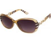 VESPL Over-sized Sunglasses(Brown)