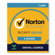 Norton Security Deluxe 3 Devices | 1 year - Digital Licence - 3 / 1