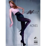 Gabriella - Elegant diamond patterned tights Agnes, 60 den