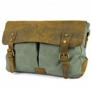 Convey Sakura Turquoise Messenger Bag