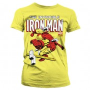 The Invincible Iron Man Girly T-Shirt