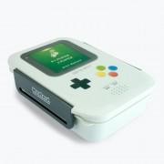 Merkloos Gameboy lunchbox/broodtrommel 21 cm
