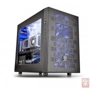 Thermaltake Core X1, ITX Cube Case, Transparent side Window, black (bez napajanja), CA-1D6-00S1WN-00