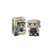 Funko Pop Shredder 8-bit Nycc 2017 Comic Con Sticker Limited Destructor Tortugas Ninja