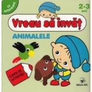 Vreau sa invat Animalele 2-3 Ani