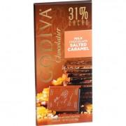 Godiva Dessert Sauces Chocolate Bar - Milk Chocolate - 31 Percent Cacao - Salted Caramel - 3.5 oz Ba