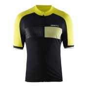 Craft Verve Glow Jersey, Svart/Neon - : Medium