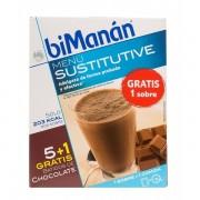 BIMANAN BATIDO CHOCOLATE 250GRX5UDS