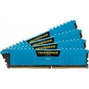 Memorie Corsair Vengeance LPX 16GB kit 4x4GB DDR4 2133MHz CL13 Blue