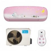 Midea Kids Pink MS11P-09HRFN1-P Full DC Inverter 9000 BTU R410A
