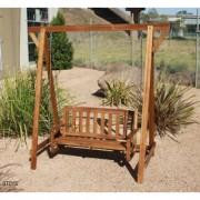 Qtoys Outdoor Hardwood Swing