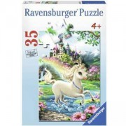 Детски пъзел 35 части - Кралски Еднорог - Ravensburger, 707608