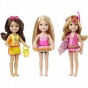 Barbie Club Chelsea la plaja mini papusa CMY16