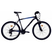 Bicicleta Mtb Dhs Terrana 2623 M negru albastru 26 inch