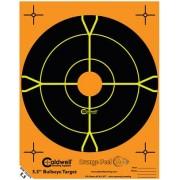 "Caldwell Måltavla Orange Peel 5,5"" Bullseye"