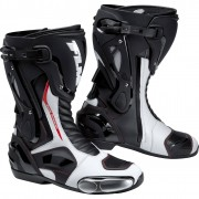 FLM Motorradstiefel lang Motorradschuhe FLM Sports Stiefel 3.0 weiß 47 weiß