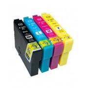Printflow Compatível: Pack 4 tinteiros Epson 502XL (C13T02W44010/C13T02V44010)