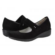 Pantofi casual dama Capriccio Timaru negri
