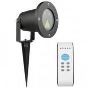 LED Laser Tuin en Feest lamp - Rood/Groen