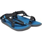 Puma Women limestone gray-french blue-asphalt Sports Sandals