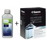 Philips Zestaw Odkamieniacz CA6700/10 250 ml + Filtr AquaClean