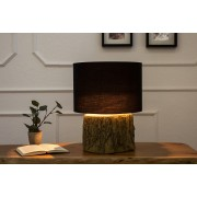 Stolná lampa TARO, 40 cm - čierna