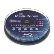 BD-R Spindel MediaRange (bedruckbar)