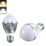 Meco E27 5W Auto PIR Infrared Motion Sensor Detection LED Bulb Lamp 85-265V