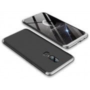 Protectie Spate GKK 360 6972170532183 pentru OnePlus 6 (Negru/Argintiu)