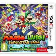 Mario and Luigi: Super Star Saga + Bowsers Minions, за 3DS