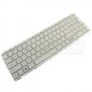 Tastatura Laptop Hp Pavilion 17-e020sq alba cu rama + CADOU