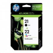 HP C9351+C9352 [BK/Col] #No.21/22 [SD367AE] tintapatron (eredeti, új)