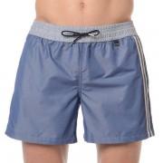 Hom Классические мужские пляжные шорты джинсового цвета (деним) HOM Jeans 35c9969c00BI распродажа