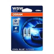 Osram Cool Blue Intense W5W jelzőizzó 2db - 2825HCBI-02B