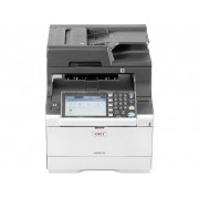OKI MC573dn Multifunctionele laserprinter (kleur) A4 Printen, scannen, kopiëren, faxen LAN, Duplex, Duplex-ADF