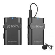 Pachet Boya BY-WM4 Pro-K1 Microfon tip Lavaliera Wireless cu protectie anti-vant