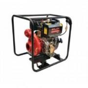 Motopompa diesel pentru irigatii Solax WP 80 DHE pornire electrica
