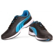 Puma Roadstar XT DP Men Running Shoes For Men(Black, Blue)